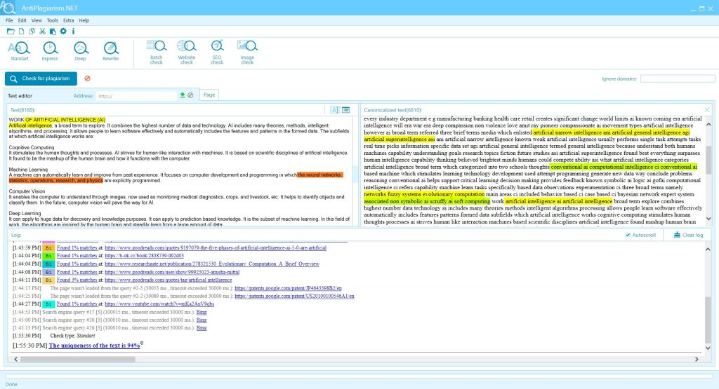 Free Plagiarism Checker Software - Free Download