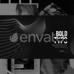 Monochrome Trendy Typography – Free Download After Effects Template