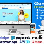 GeniusCart v1.7.4 – Single or Multivendor Ecommerce System with Physical and Digital Product Marketplace