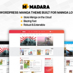 Madara v1.6.4.5 | WordPress Theme for Manga